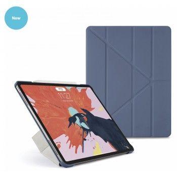 Capa para iPad Pro 12,9 (2018) Pipetto Origami - Azul Navy