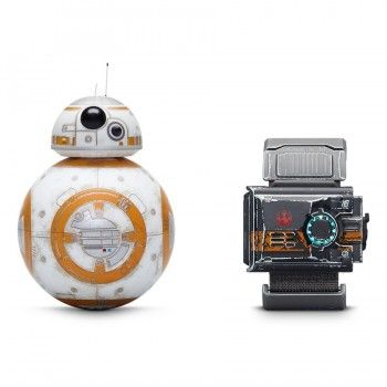 Droide BB-8 com marcas de batalha com Force Band by Sphero