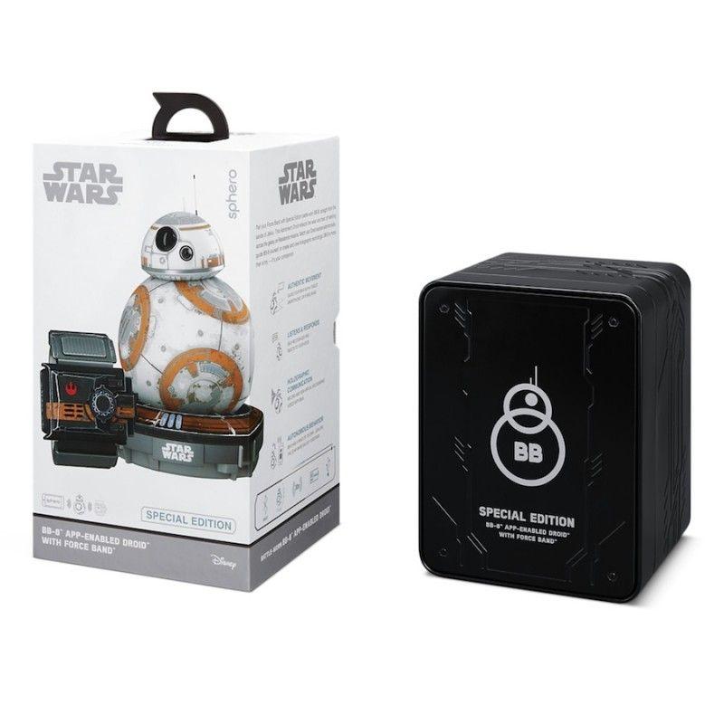 Droide BB-8 com marcas de batalha com Force Band by Sphero