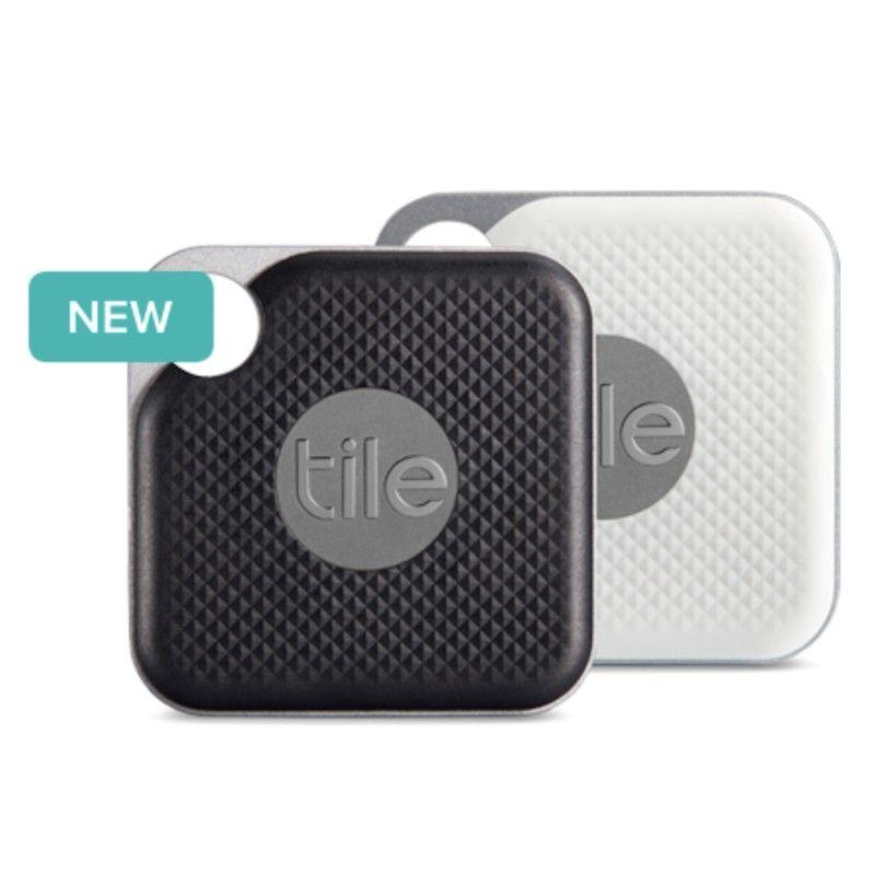 Tile Pro Black & White c/bateria substituivel, pack de 2.