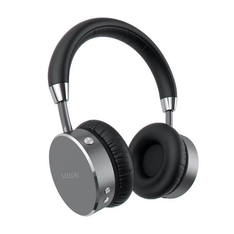 Auscultadores Bluetooth Satechi - Cinzento Sideral