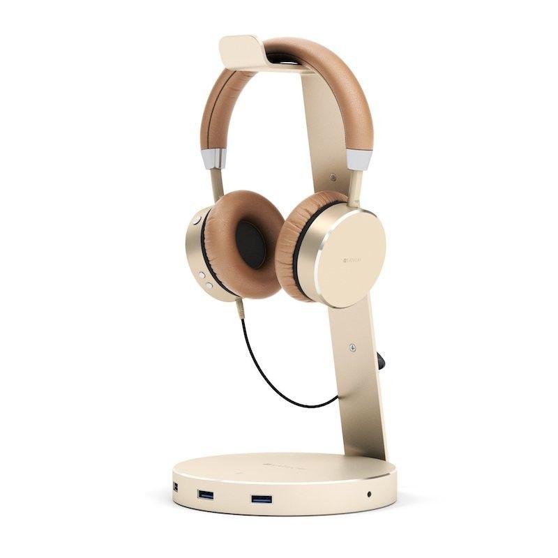 Auscultadores Bluetooth Satechi - Dourado
