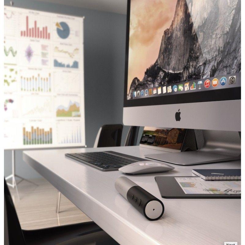 Pointer Bluetooth em alumínio para Mac e iPad