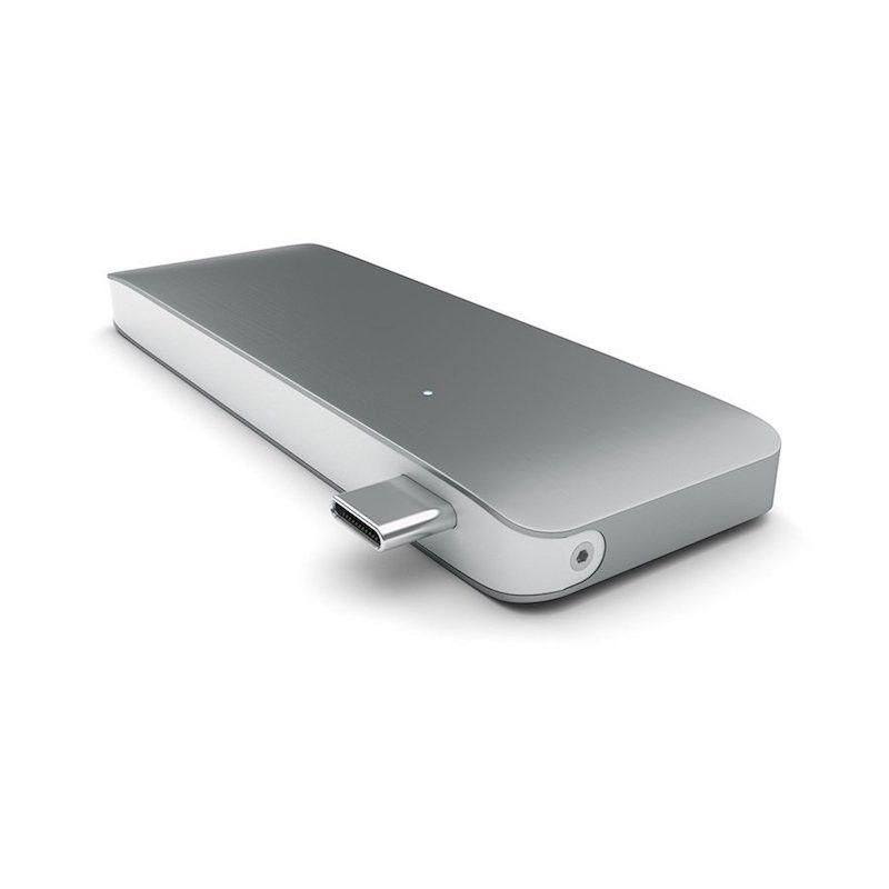 Adaptador Type-C USB 3.0 Satechi - Cinzento Sideral