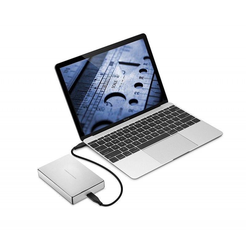 "LaCie 2.5"" USB-C Porsche Design - 4TB"