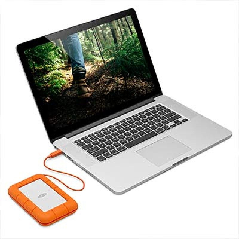 Disco externo LaCie Rugged 2 TB 2.5 USB & USB-C