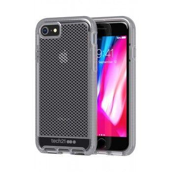 Capa iPhone SE (2020)/8/7 Tech21 Evo Check Cinza