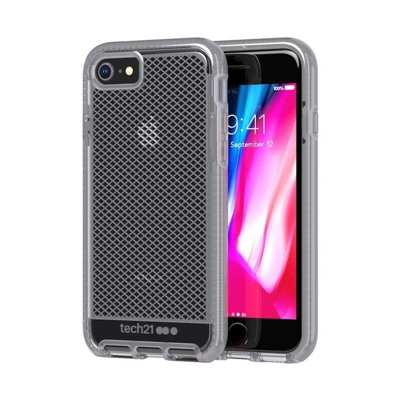 Capa Tech21 Evo Check para iPhone 8 / 7 - Cinza