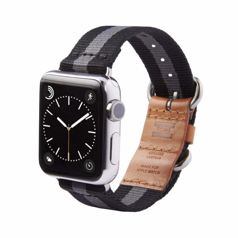 Bracelete Utility TOMS de nylon para Apple Watch