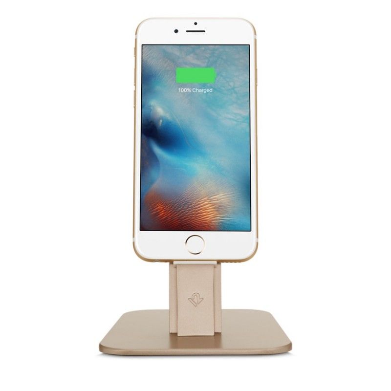 Suporte para iPhone e iPad mini Twelve South HRise Deluxe -  Dourado