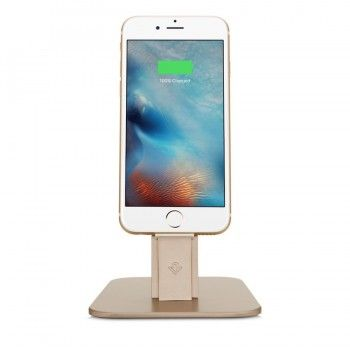 Suporte para iPhone e iPad mini Twelve South HRise Deluxe -  Dourado