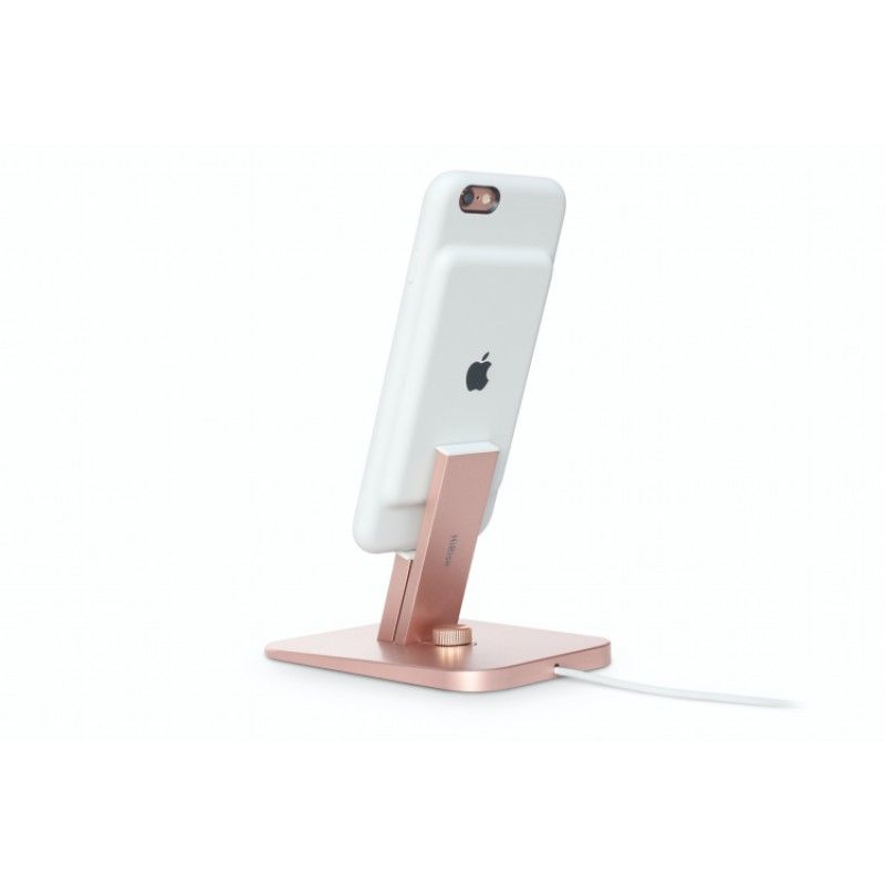 Suporte para iPhone e iPad mini Twelve South HiRise Deluxe - Rosa Dourado