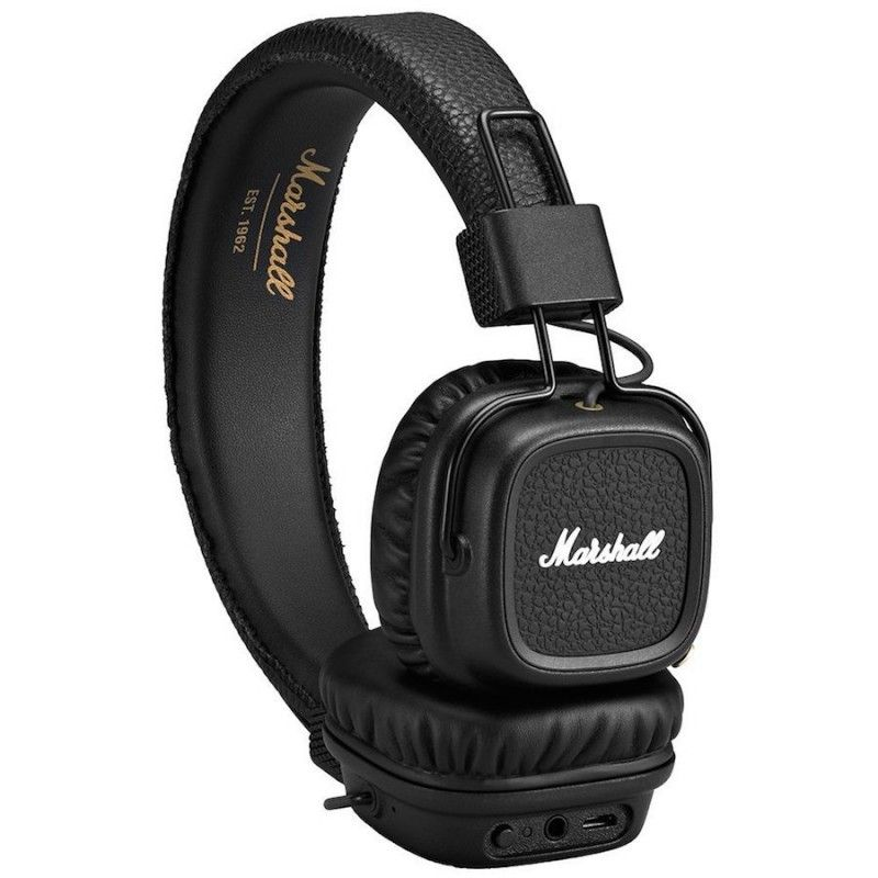 Auscultadores sem fios Major II Marshall bluetooth - Preto