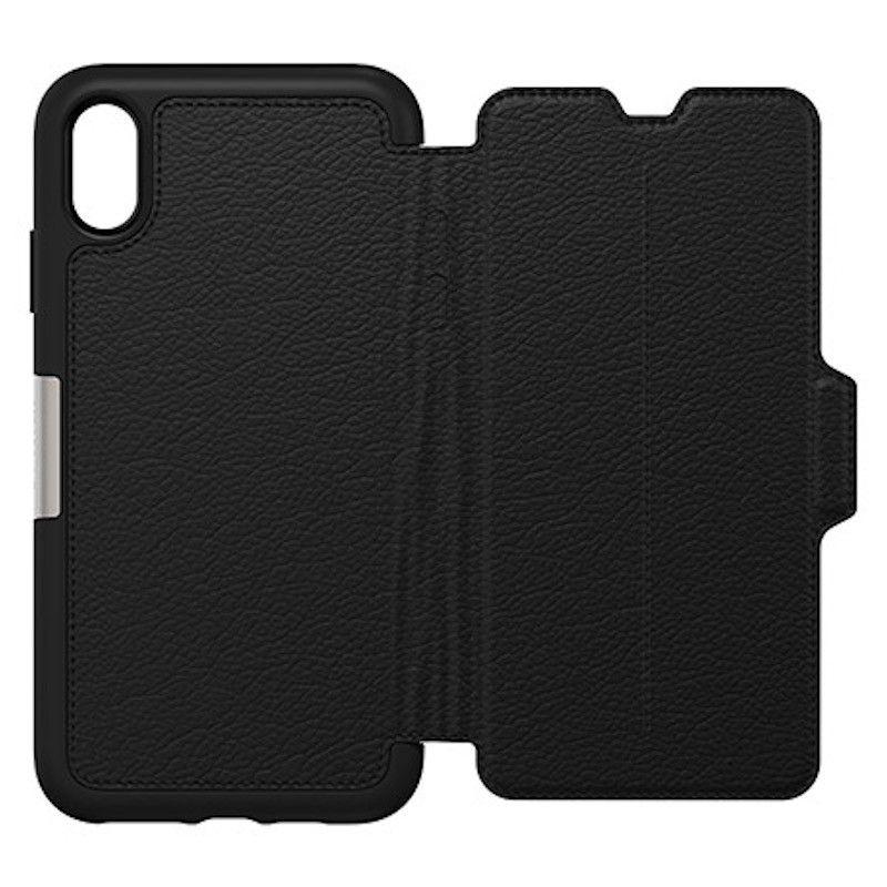 Capa para iPhone XS Max Otterbox Strada - Shadow Black