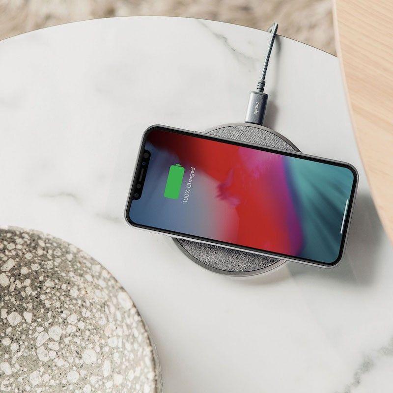 Carregador sem fios para iPhone ou Smartphones Qi