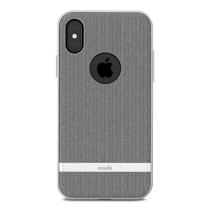 Capa para iPhone XS/S Moshi Vesta - Herrington Gray