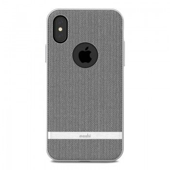 Capa para iPhone XS/S Moshi Vesta - Herrington Gray