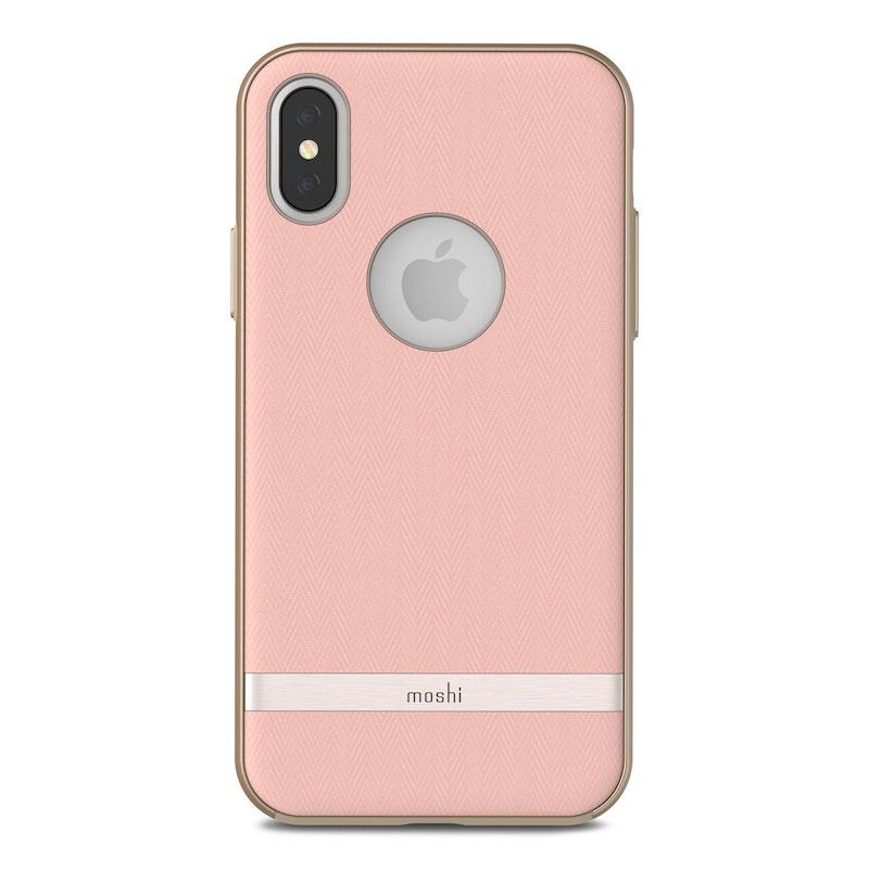 Capa para iPhone XS/S Moshi Vesta - Blossom Pink
