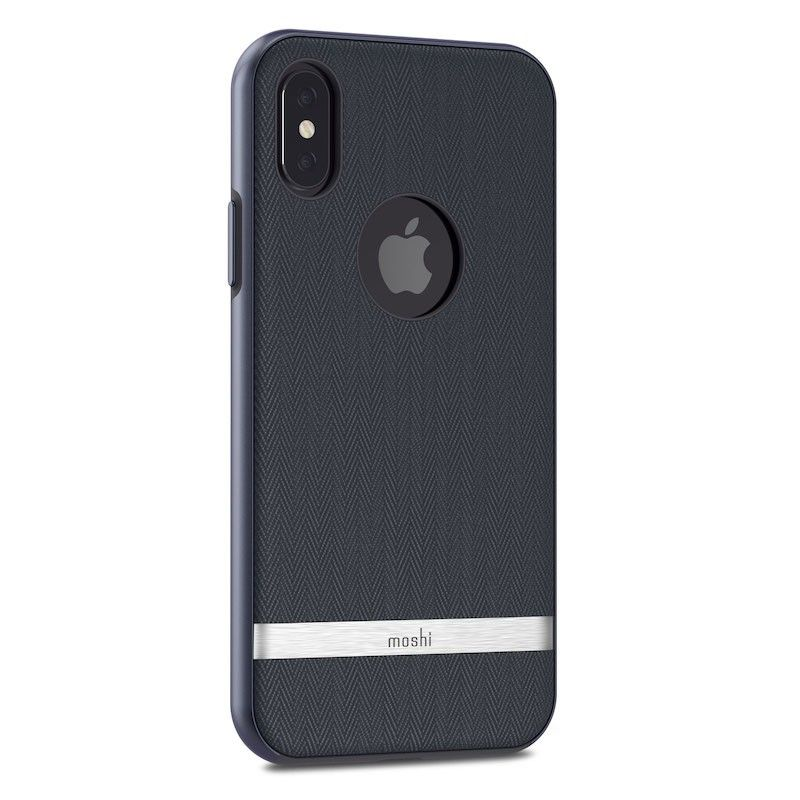 Capa para iPhone XS/S Moshi Vesta - Bahama Blue