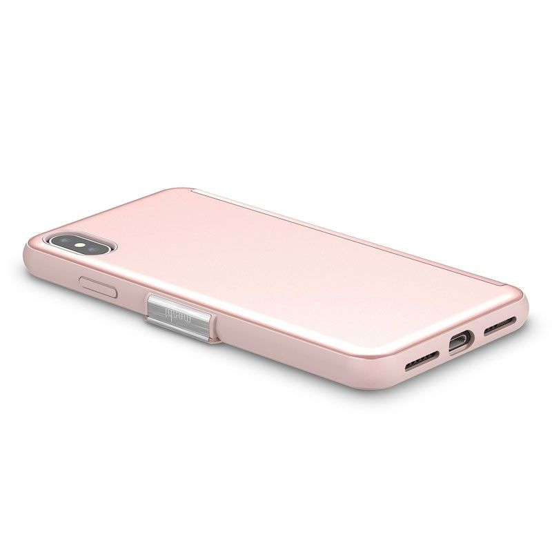 Capa para iPhone XS Max Moshi StealthCover - Champagne Pink