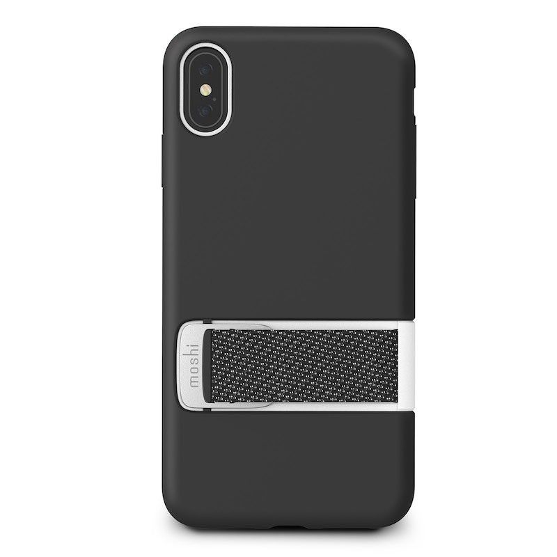 Capa para iPhone XS Max Moshi Capto - Mulberry Black