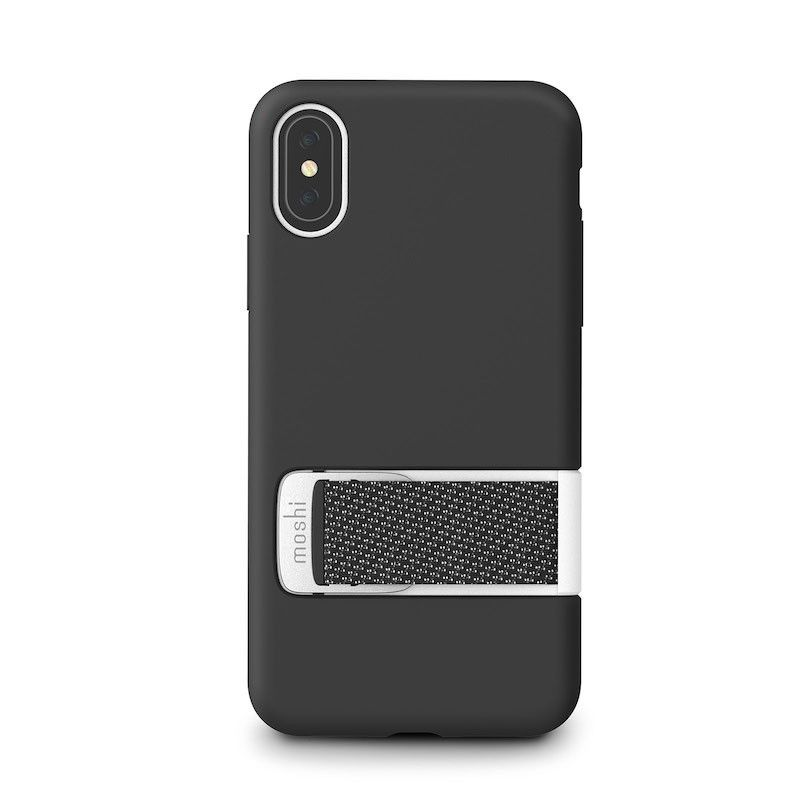 Capa para iPhone XS Moshi Capto - Mulberry Black