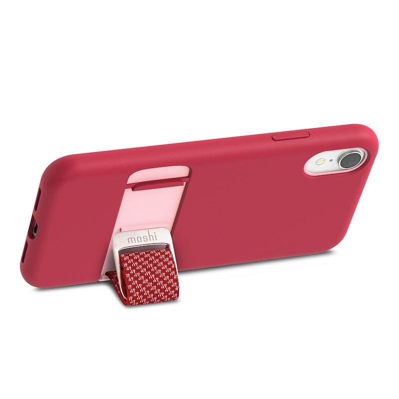Capa para iPhone XR Moshi Capto - Raspberry Pink