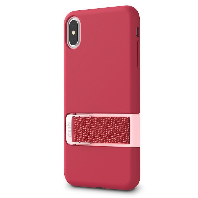 Capa para iPhone XS Max Moshi Capto - Raspberry Pink