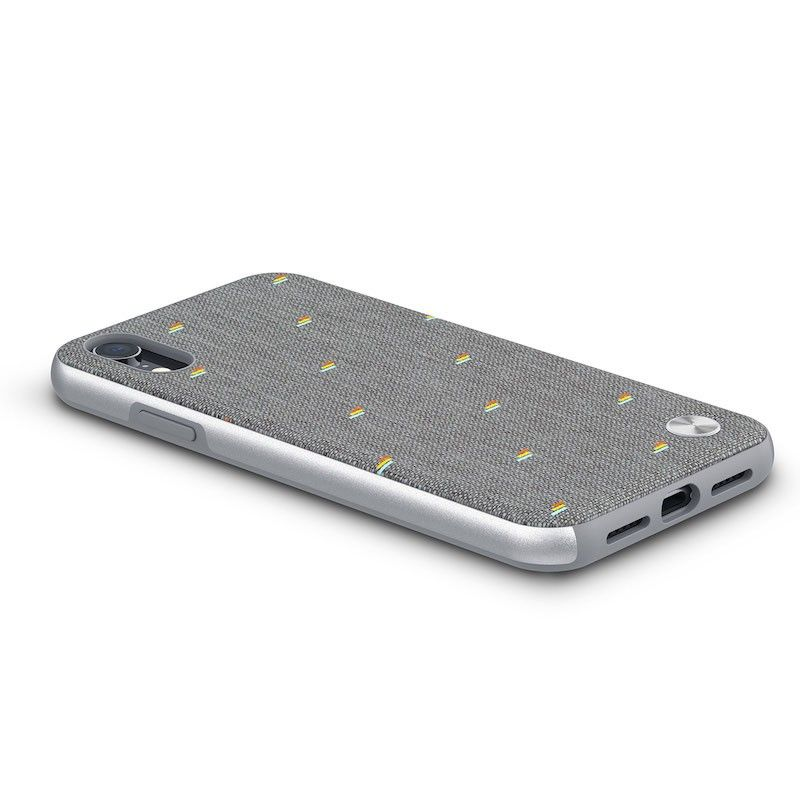 Capa para iPhone XR Moshi Vesta - Pebble Gray