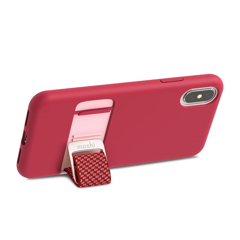 Capa para iPhone XS Moshi Capto - Raspberry Pink