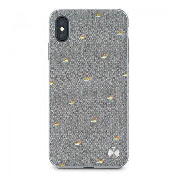 Capa para iPhone XS Max Moshi Vesta - Pebble Gray