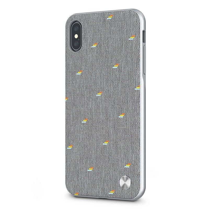 Capa para iPhone XS Max Moshi Vesta - Pebble Gray
