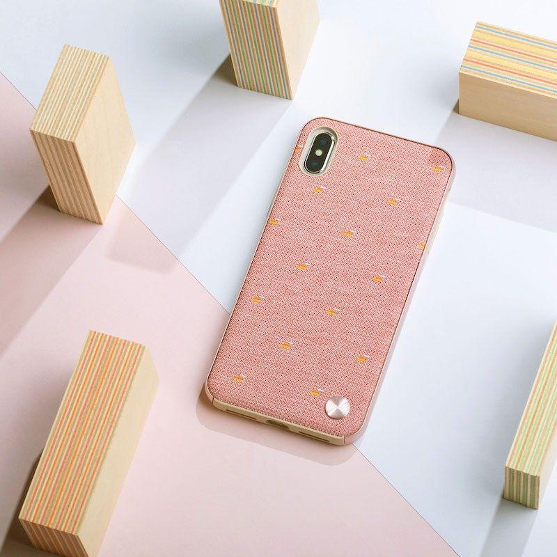 Capa para iPhone XS Max Moshi Vesta - Macaron Pink