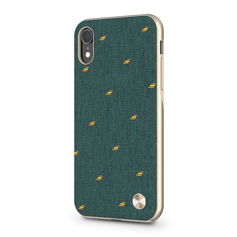 Capa para iPhone XR Moshi Vesta - Emerald Green