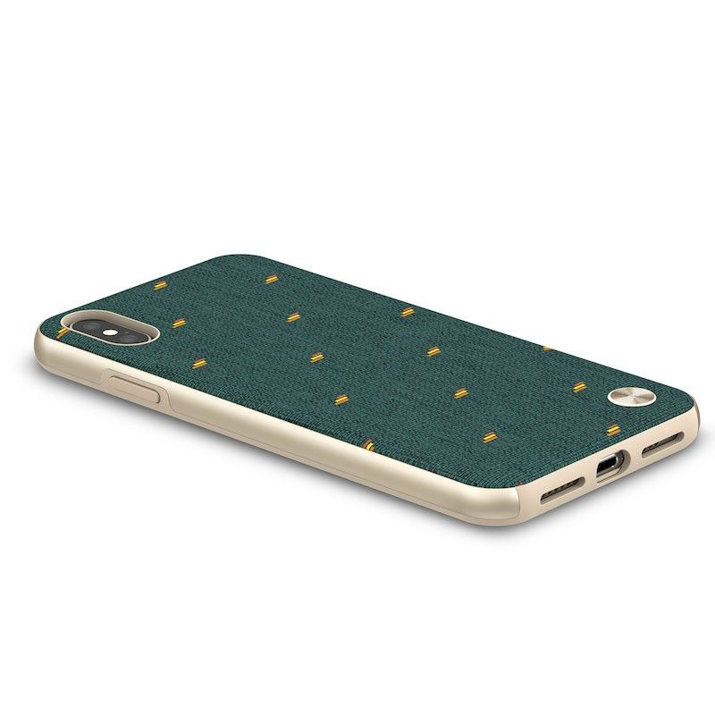 Capa para iPhone XS Max Moshi Vesta - Emerald Green