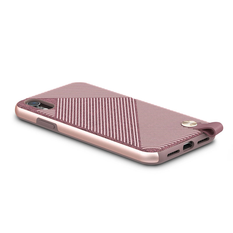 Capa para iPhone XR Moshi Altra - Blossom Pink