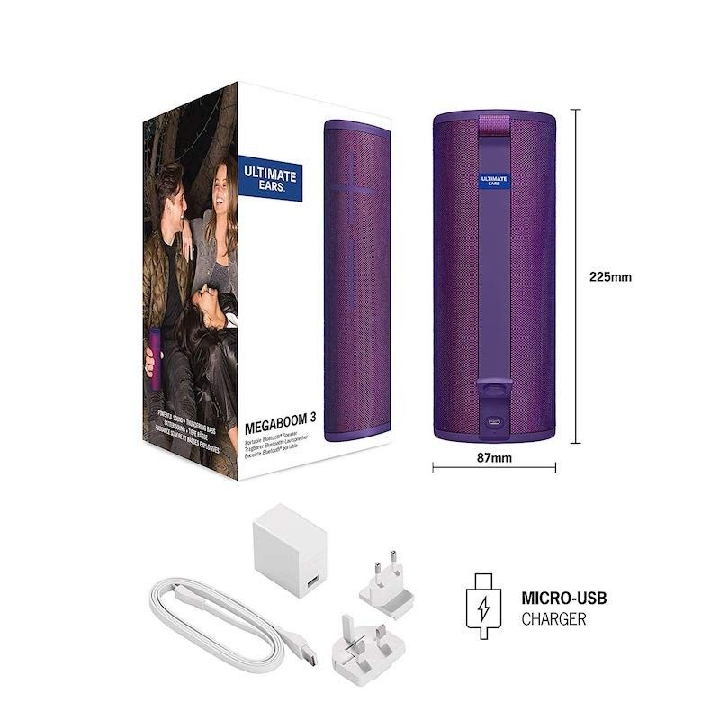 Coluna Ultimate Ears Megaboom 3 - Ultra Violet Purple