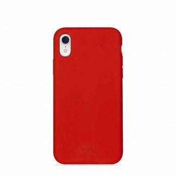 Capa iPhone XR em Silicone da Puro - Vermelho