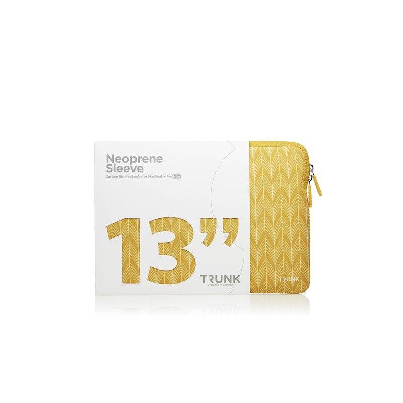 Sleeve MacBook Pro 13 Trunk - Yellow Stalks