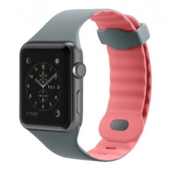 Pulseira para Apple Watch 42mm - Rosa/Cinza