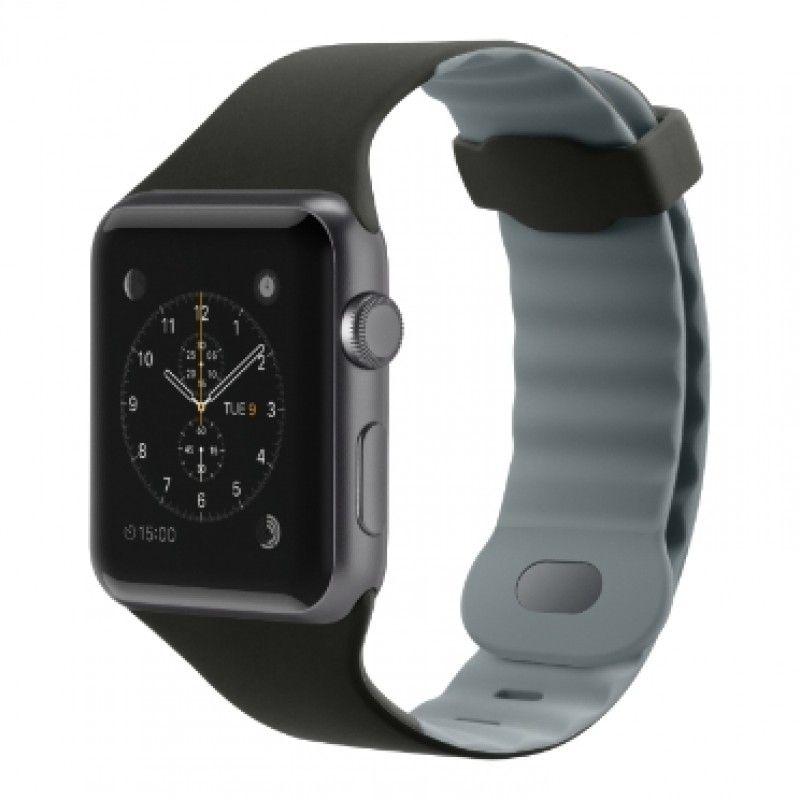 Pulseira para Apple Watch 42mm Preto/Cinza