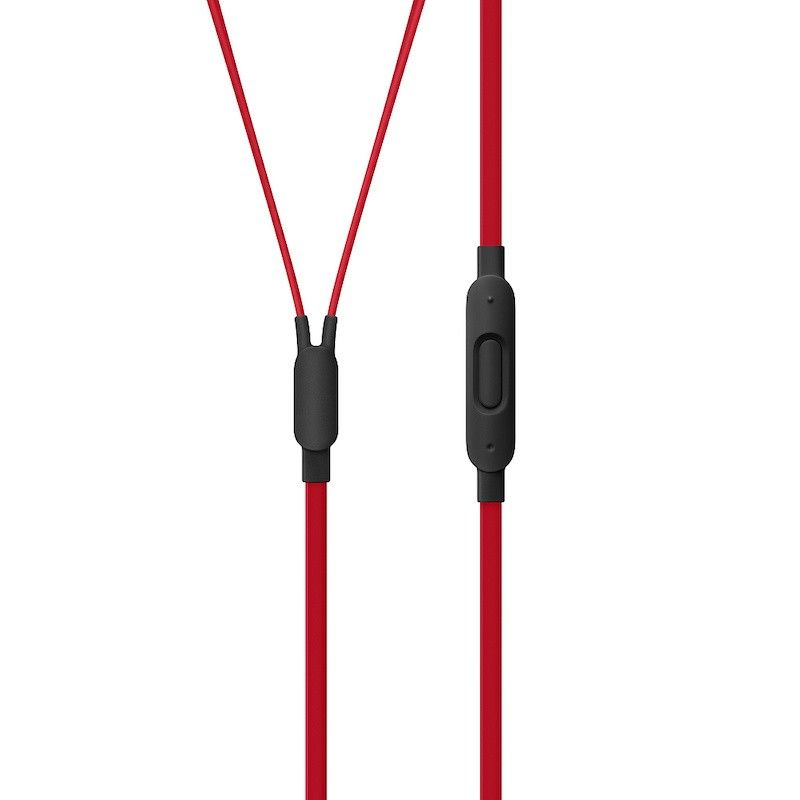 Auriculares urBeats3 Defiant Collection com ficha 3,5 mm - Preto/Vermelho