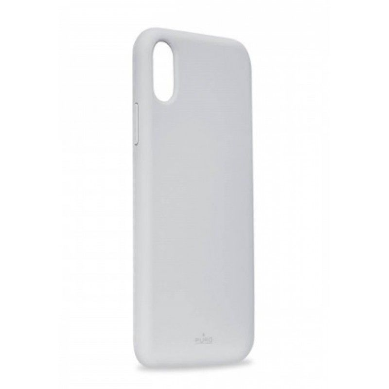 Capa iPhone XS Max em Silicone da Puro - Azul claro