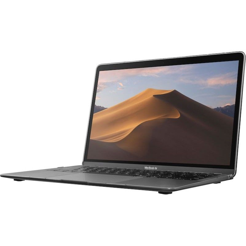 Capa MacBook Air 2018  - Black  (translúcida escura)