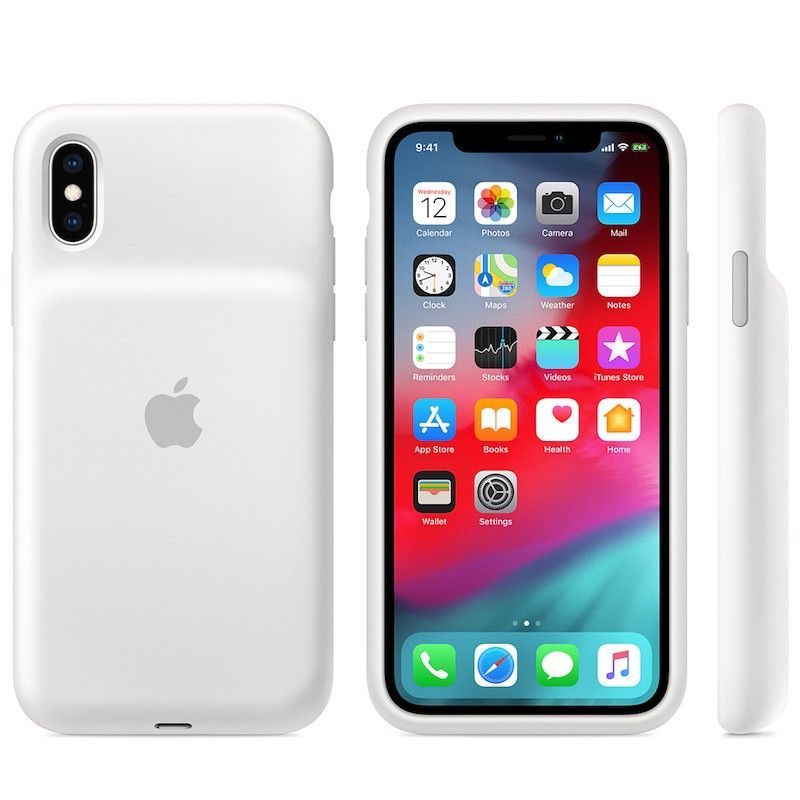 Smart Battery Case para iPhone XS - Branco