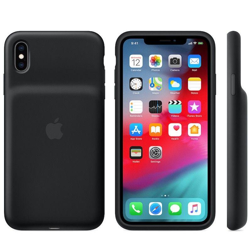 Smart Battery Case para iPhone XS Max - Preto