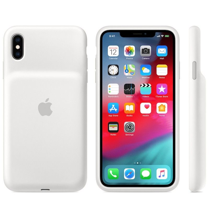 Smart Battery Case para iPhone XS Max - Branco