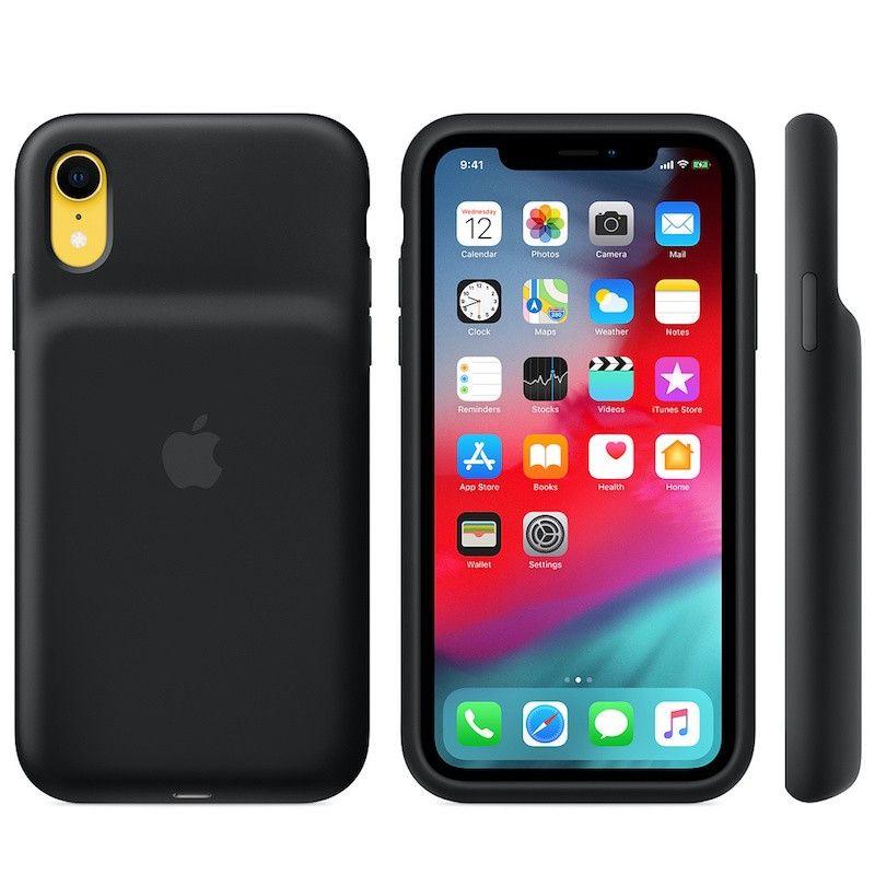 Smart Battery Case para iPhone XR - Preto