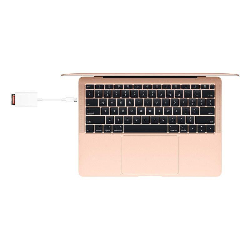 Adaptador USB-C para Leitor de cartões SD