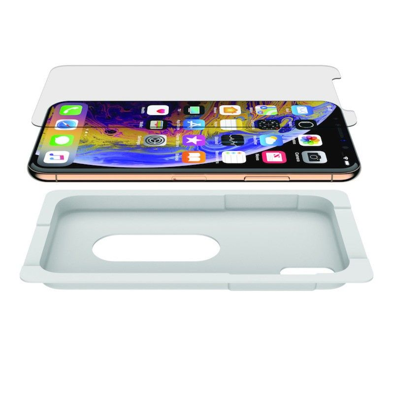 Película de vidro temperado 9H para iPhone XS Max